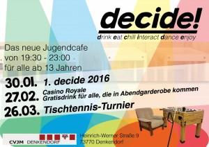 Decide Flyer Q1 2016